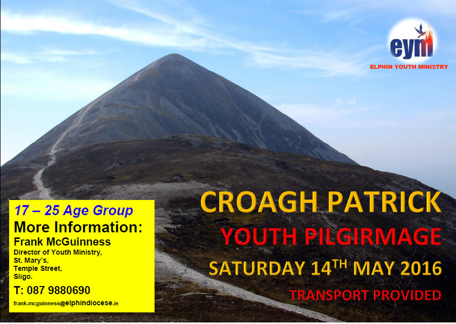 Youth Pilgrimage - Croagh Patrick - 14th May 2016